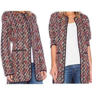 Sanctuary Boucle Knit Kimono City Cardigan Jacket